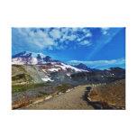 El Monte Rainier estiró la impresión de la lona Impresiones En Lienzo Estiradas