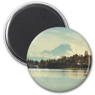 El Monte Rainier Iman De Frigorífico