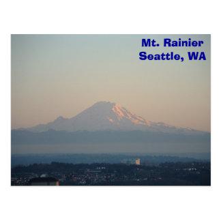 El Monte Rainier Tarjeta Postal