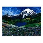 El Monte Rainier Tarjetas Postales