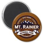 El Monte Rainier vibrante Iman De Nevera