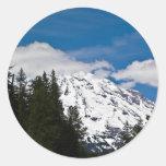 El Monte Rainier, WA Pegatinas Redondas