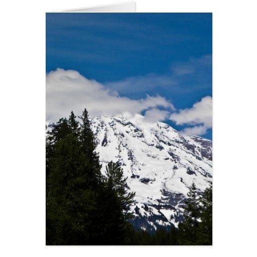 El Monte Rainier, WA Tarjeta De Felicitación