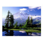 El Monte Rainier Washington Tarjeta Postal