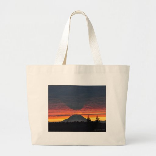 El Monte Rainier y es sombra Bolsas De Mano