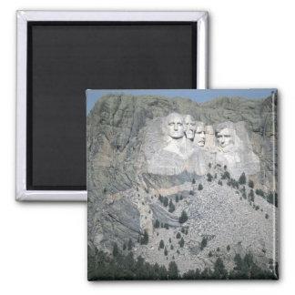 El monte Rushmore, Black Hills, Dakota del Sur, lo Imán Cuadrado