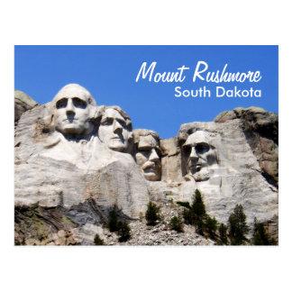 El monte Rushmore Dakota del Sur Tarjeta Postal