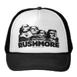 El monte Rushmore Gorras