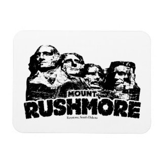 El monte Rushmore Iman Rectangular