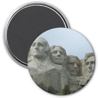 El monte Rushmore Imán Redondo 7 Cm