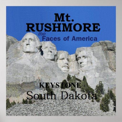 El monte Rushmore Impresiones
