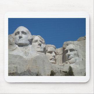 El monte Rushmore Mouse Pad