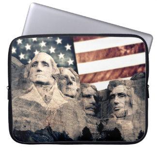 El monte Rushmore patriótico Fundas Ordendadores