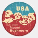 El monte Rushmore Pegatinas
