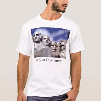 El monte Rushmore Playera