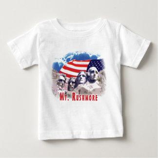 El monte Rushmore Playera De Bebé