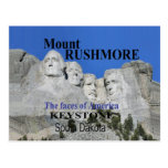El monte Rushmore Postales