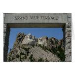 El monte Rushmore, SD Felicitación