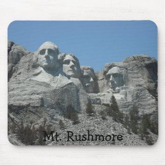 El monte Rushmore Alfombrillas De Ratón