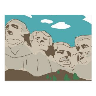 El monte Rushmore Postal