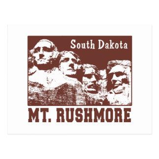 El monte Rushmore Tarjetas Postales