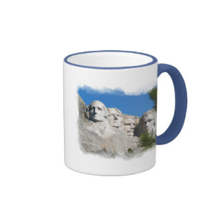El monte Rushmore Taza A Dos Colores