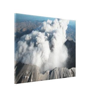El Monte Saint Helens - octubre de 2004 Impresiones En Lona Estiradas