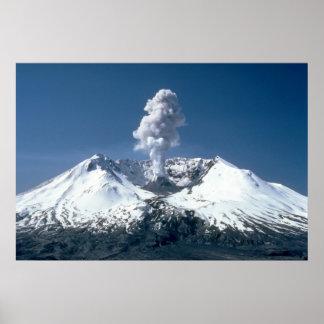 El Monte Saint Helens Poster