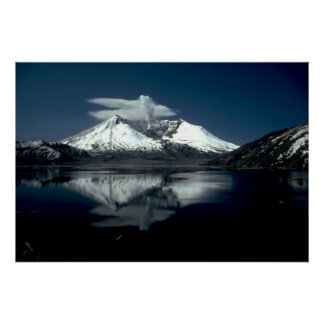 El Monte Saint Helens Póster