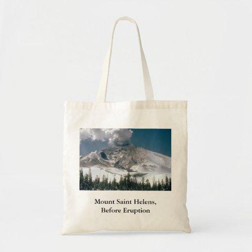 El Monte Saint Helens - Pre-Erupción Bolsas