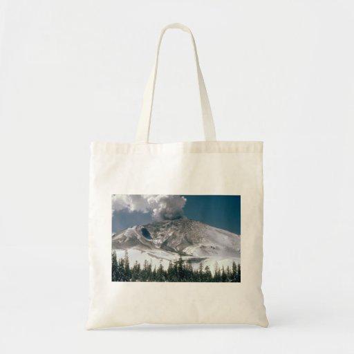 El Monte Saint Helens - Pre-Erupción Bolsa Lienzo