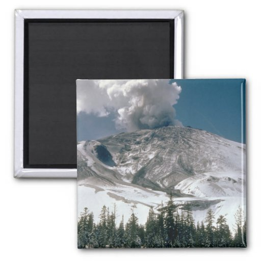 El Monte Saint Helens - Pre-Erupción Imán