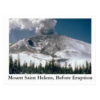 El Monte Saint Helens - Pre-Erupción Tarjeta Postal