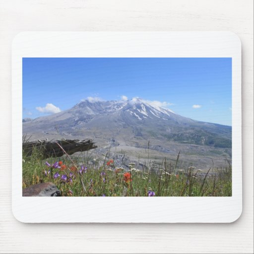 El Monte Saint Helens Tapetes De Ratón