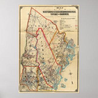 El Monte Vernon, E Chester, Pelham, New Rochelle,  Póster