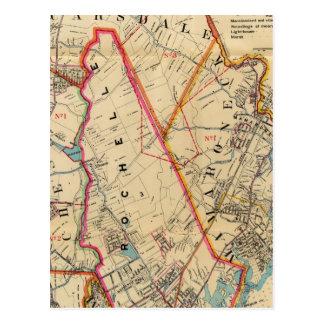 El Monte Vernon, E Chester, Pelham, New Rochelle,  Tarjeta Postal