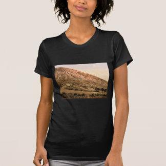 El monte Vesubio, camino y ferrocarril, Nápoles, Camisetas