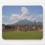 El monte Vesubio, Pompeya Tapete De Ratón