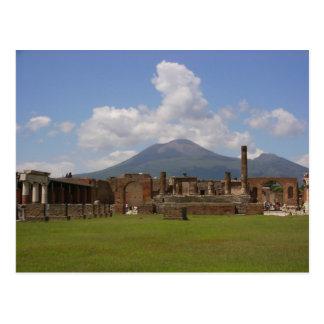 El monte Vesubio, Pompeya Tarjetas Postales