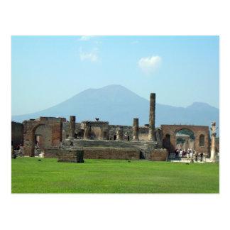 El monte Vesubio Tarjetas Postales