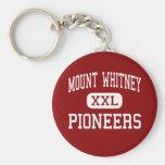 El Monte Whitney - pioneros - alto - Visalia Llavero Personalizado