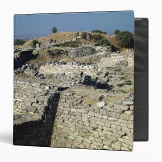 El montón de Hissarlik, el sitio de