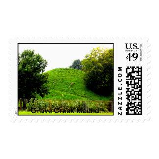 El montón grave de la cala sello postal
