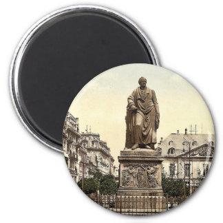 El monumento de Goethe, Frankfort en la tubería (e Imán Redondo 5 Cm