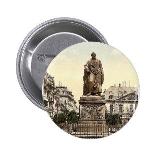 El monumento de Goethe, Frankfort en la tubería (e Pins