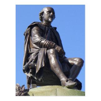 El monumento de Gower a William Shakespeare Postales