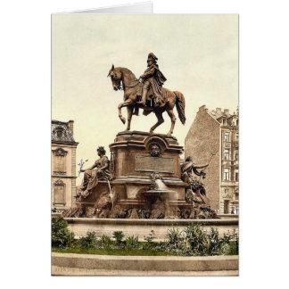 El monumento de Guillermo del emperador, Colonia,  Tarjeta