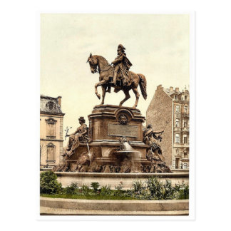 El monumento de Guillermo del emperador, Colonia,  Tarjeta Postal