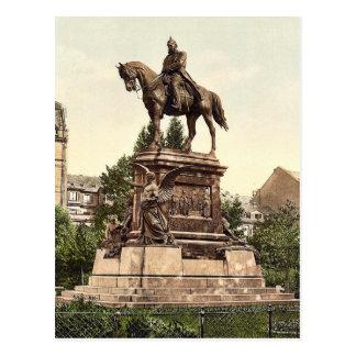 El monumento de Guillermo del emperador, Frankfort Postales