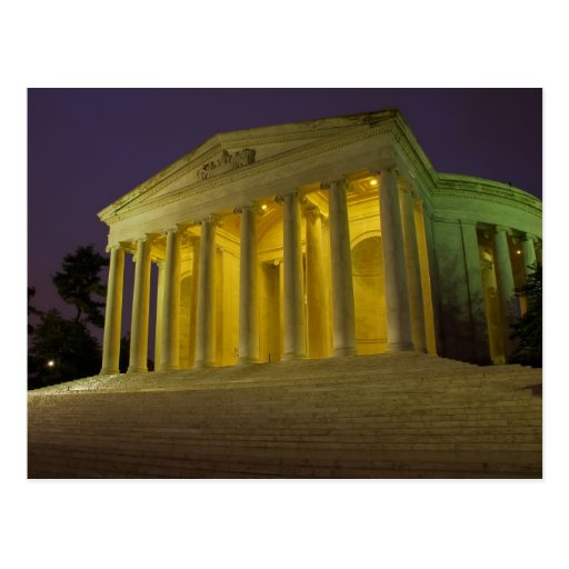 El monumento de Jefferson Postales
